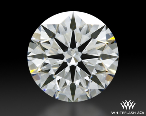1.307 ct F VS2 A CUT ABOVE® Hearts and Arrows Super Ideal Round Cut Loose Diamond