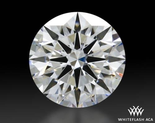 1.123 ct E VS1 A CUT ABOVE® Hearts and Arrows Super Ideal Round Cut Loose Diamond