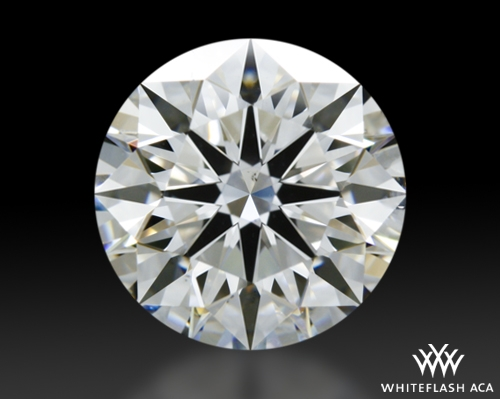 1.507 ct F SI1 A CUT ABOVE® Hearts and Arrows Super Ideal Round Cut Loose Diamond