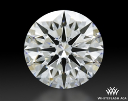 0.703 ct E SI1 A CUT ABOVE® Hearts and Arrows Super Ideal Round Cut Loose Diamond