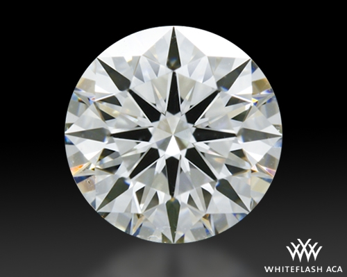 0.776 ct H SI1 A CUT ABOVE® Hearts and Arrows Super Ideal Round Cut Loose Diamond