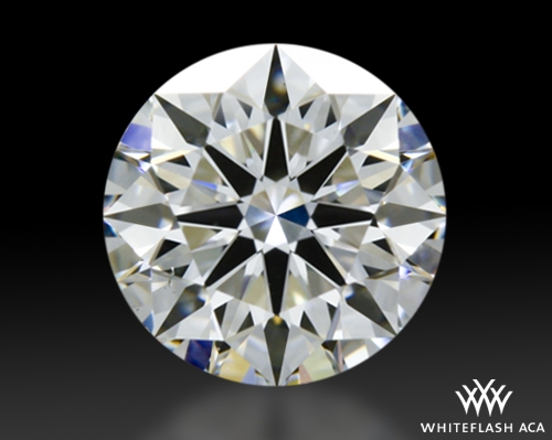 0.748 ct F VS2 A CUT ABOVE® Hearts and Arrows Super Ideal Round Cut Loose Diamond