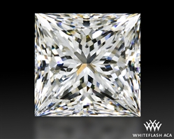 0.925 ct F SI1 A CUT ABOVE® Princess Super Ideal Cut Diamond