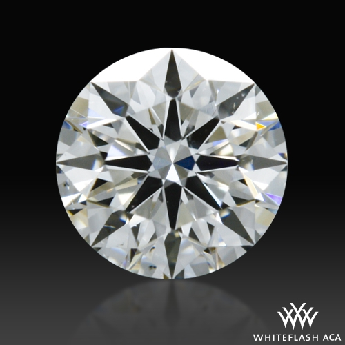 0.443 ct F VS2 A CUT ABOVE® Hearts and Arrows Super Ideal Round Cut Loose Diamond