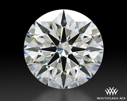 1.206 ct F VS1 A CUT ABOVE® Hearts and Arrows Super Ideal Round Cut Loose Diamond