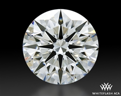 1.113 ct G VS1 A CUT ABOVE® Hearts and Arrows Super Ideal Round Cut Loose Diamond