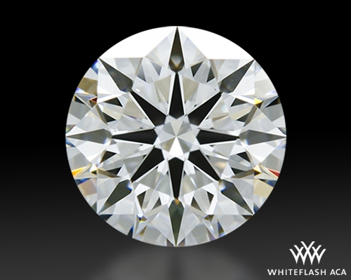 1.243 ct G VS1 A CUT ABOVE® Hearts and Arrows Super Ideal Round Cut Loose Diamond