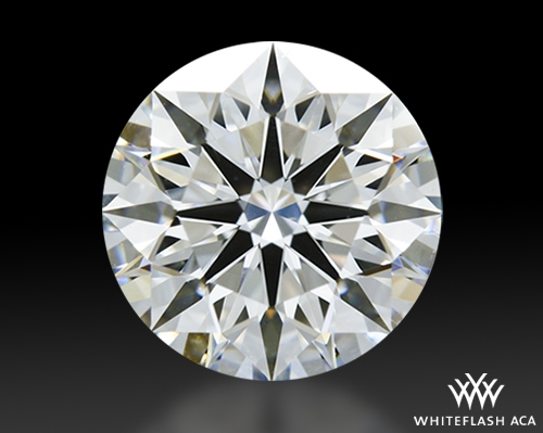 1.282 ct F VVS2 A CUT ABOVE® Hearts and Arrows Super Ideal Round Cut Loose Diamond