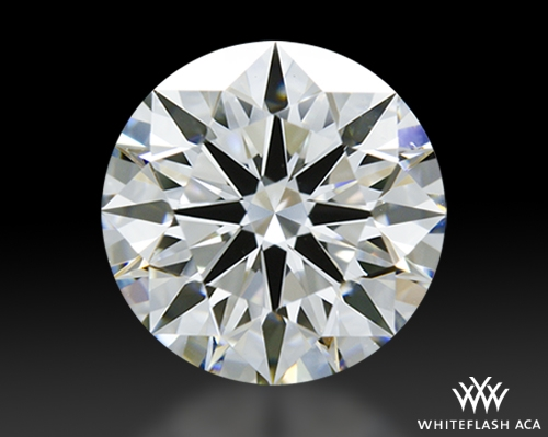 1.295 ct E VVS2 A CUT ABOVE® Hearts and Arrows Super Ideal Round Cut Loose Diamond