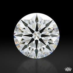 1.07 ct F VS1 A CUT ABOVE® Hearts and Arrows Super Ideal Round Cut Loose Diamond