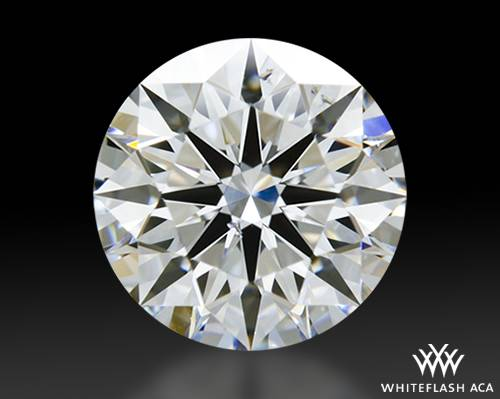 1.027 ct F SI1 A CUT ABOVE® Hearts and Arrows Super Ideal Round Cut Loose Diamond