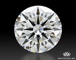 1.14 ct F SI1 A CUT ABOVE® Hearts and Arrows Super Ideal Round Cut Loose Diamond