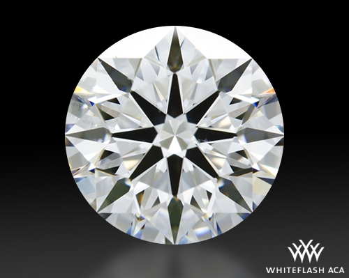 1.178 ct F SI1 A CUT ABOVE® Hearts and Arrows Super Ideal Round Cut Loose Diamond