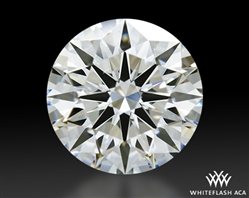 1.121 ct G VS2 A CUT ABOVE® Hearts and Arrows Super Ideal Round Cut Loose Diamond