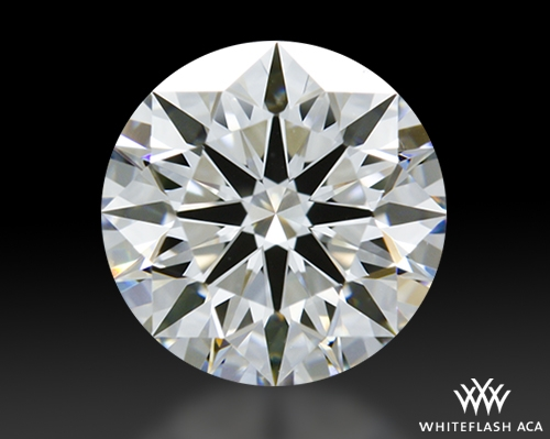 1.117 ct E VVS1 A CUT ABOVE® Hearts and Arrows Super Ideal Round Cut Loose Diamond