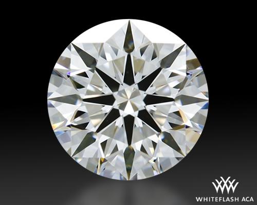 1.117 ct E VVS1 A CUT ABOVE® Hearts and Arrows Super Ideal Round Cut Loose Diamond