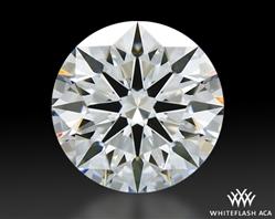 0.916 ct D VVS1 A CUT ABOVE® Hearts and Arrows Super Ideal Round Cut Loose Diamond