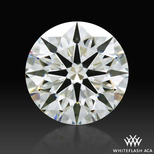 1.203 ct I SI1 A CUT ABOVE® Hearts and Arrows Super Ideal Round Cut Loose Diamond