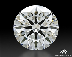 1.202 ct F VS2 A CUT ABOVE® Hearts and Arrows Super Ideal Round Cut Loose Diamond