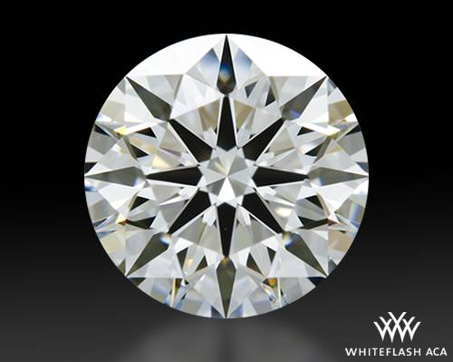 0.838 ct G VS1 A CUT ABOVE® Hearts and Arrows Super Ideal Round Cut Loose Diamond