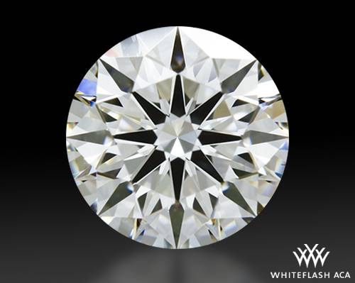 0.81 ct H VS1 A CUT ABOVE® Hearts and Arrows Super Ideal Round Cut Loose Diamond