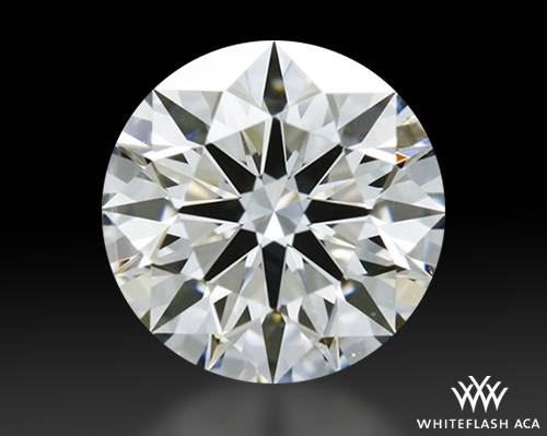 0.722 ct F SI1 A CUT ABOVE® Hearts and Arrows Super Ideal Round Cut Loose Diamond