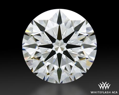 0.758 ct E SI1 A CUT ABOVE® Hearts and Arrows Super Ideal Round Cut Loose Diamond