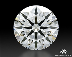 0.758 ct E SI1 A CUT ABOVE® Hearts and Arrows Super Ideal Round Cut Loose Diamond