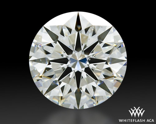 0.832 ct I SI1 A CUT ABOVE® Hearts and Arrows Super Ideal Round Cut Loose Diamond