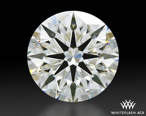 0.804 ct H VS2 A CUT ABOVE® Hearts and Arrows Super Ideal Round Cut Loose Diamond