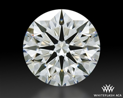 0.803 ct H VVS1 A CUT ABOVE® Hearts and Arrows Super Ideal Round Cut Loose Diamond