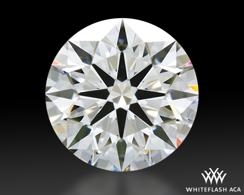 0.826 ct G VS1 A CUT ABOVE® Hearts and Arrows Super Ideal Round Cut Loose Diamond