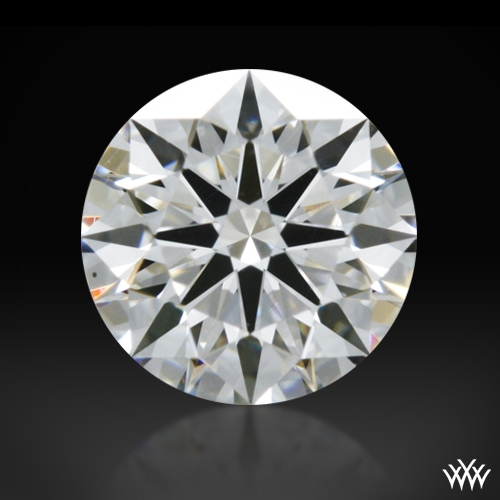 0.405 ct H VS1 A CUT ABOVE® Hearts and Arrows Super Ideal Round Cut Loose Diamond