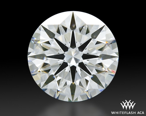1.066 ct F VVS2 A CUT ABOVE® Hearts and Arrows Super Ideal Round Cut Loose Diamond