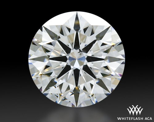 1.102 ct E SI1 A CUT ABOVE® Hearts and Arrows Super Ideal Round Cut Loose Diamond