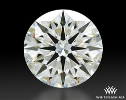 1.01 ct I VS2 A CUT ABOVE® Hearts and Arrows Super Ideal Round Cut Loose Diamond