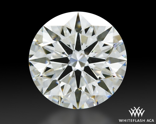 1.127 ct I VS1 A CUT ABOVE® Hearts and Arrows Super Ideal Round Cut Loose Diamond