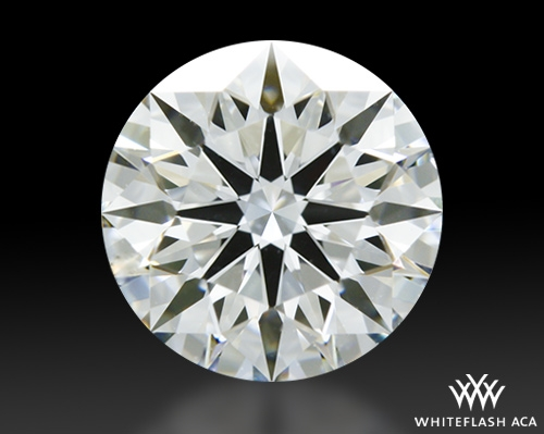 1.014 ct H SI1 A CUT ABOVE® Hearts and Arrows Super Ideal Round Cut Loose Diamond