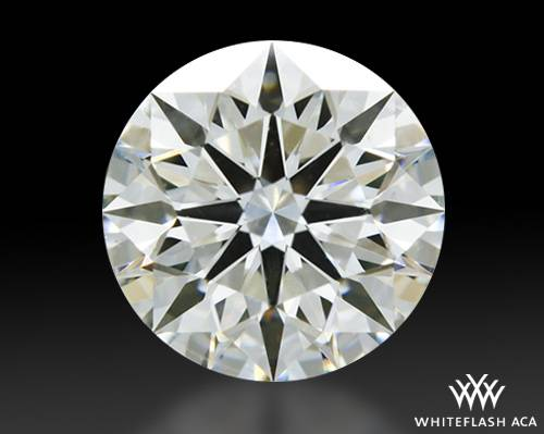 1.087 ct H VS2 A CUT ABOVE® Hearts and Arrows Super Ideal Round Cut Loose Diamond