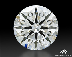 1.28 ct G VVS2 A CUT ABOVE® Hearts and Arrows Super Ideal Round Cut Loose Diamond