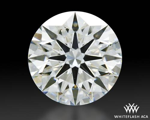 1.207 ct I SI2 A CUT ABOVE® Hearts and Arrows Super Ideal Round Cut Loose Diamond