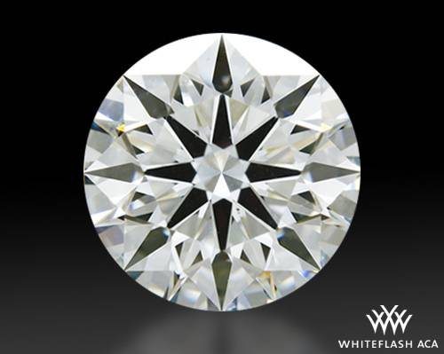 1.203 ct J VS1 A CUT ABOVE® Hearts and Arrows Super Ideal Round Cut Loose Diamond
