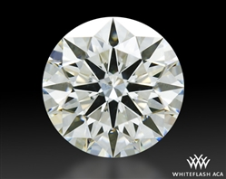 1.225 ct J SI1 A CUT ABOVE® Hearts and Arrows Super Ideal Round Cut Loose Diamond