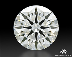 1.531 ct J VS1 A CUT ABOVE® Hearts and Arrows Super Ideal Round Cut Loose Diamond