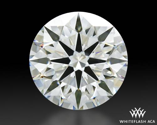 1.732 ct H SI1 A CUT ABOVE® Hearts and Arrows Super Ideal Round Cut Loose Diamond