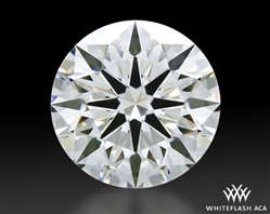 1.304 ct F VVS1 A CUT ABOVE® Hearts and Arrows Super Ideal Round Cut Loose Diamond