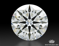 1.31 ct F VS1 A CUT ABOVE® Hearts and Arrows Super Ideal Round Cut Loose Diamond