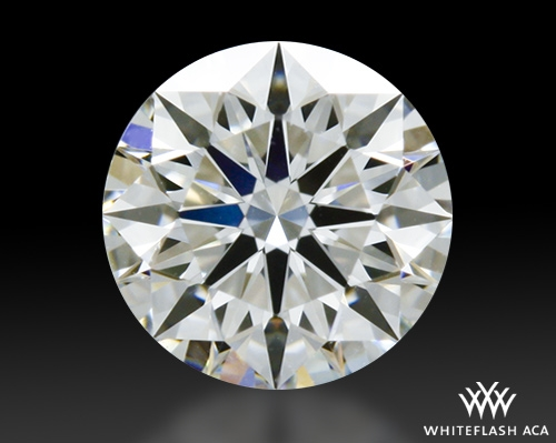 0.51 ct H VS1 A CUT ABOVE® Hearts and Arrows Super Ideal Round Cut Loose Diamond