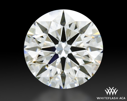 0.516 ct I VS2 A CUT ABOVE® Hearts and Arrows Super Ideal Round Cut Loose Diamond