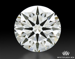 0.536 ct I VS1 A CUT ABOVE® Hearts and Arrows Super Ideal Round Cut Loose Diamond